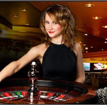 live roulette croupier